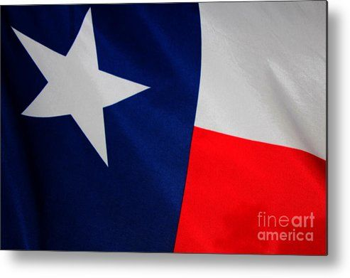 The Texas Flag Metal Print By Amy Steeples Texas Flags Steeple Photography For Sale