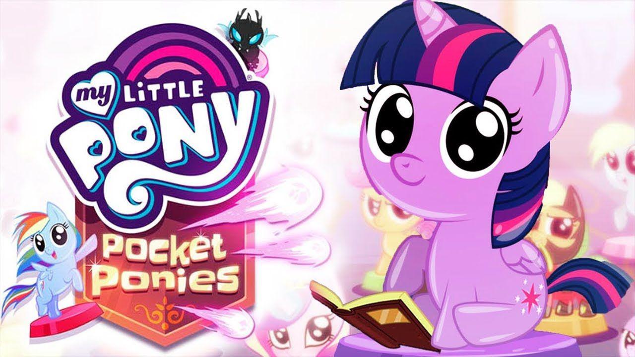 My Little Pony Pocket Ponies School Of Friendship Budge