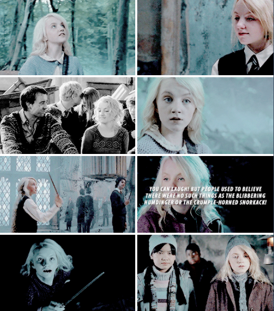 I think it goes unsaid that everybody likes Luna better than Cho. At least I do.