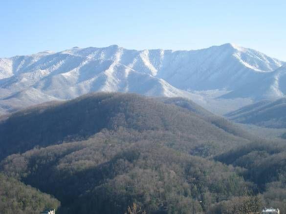 Snow Covered Mountains Gatlinburg Tennessee Gatlinburg Mountain Pictures