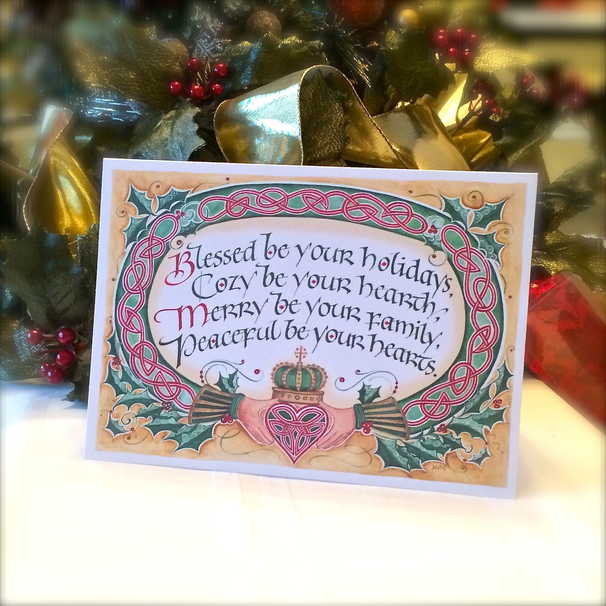 Blessed Be Your Holidays Holidays Blessings And Card Sentiments
