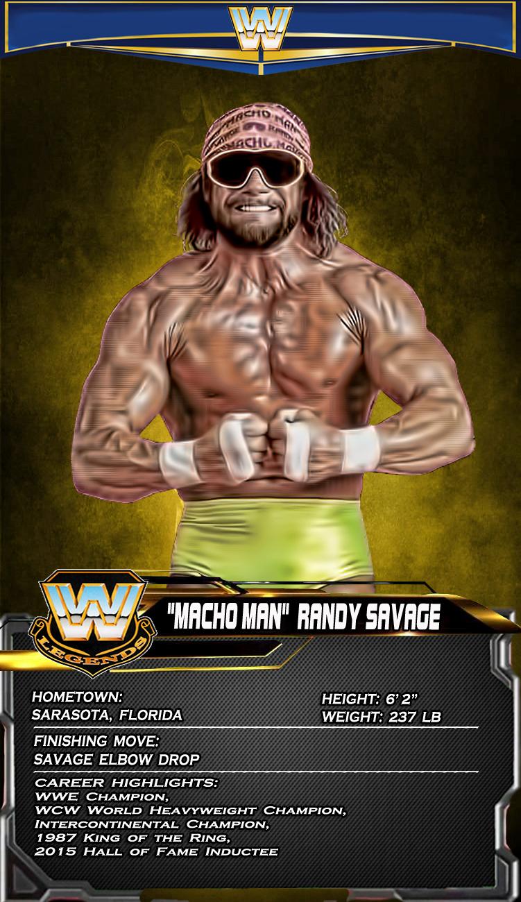 Macho Man Randy Savage Wwf Superstars Wrestling Superstars Macho Man Randy Savage