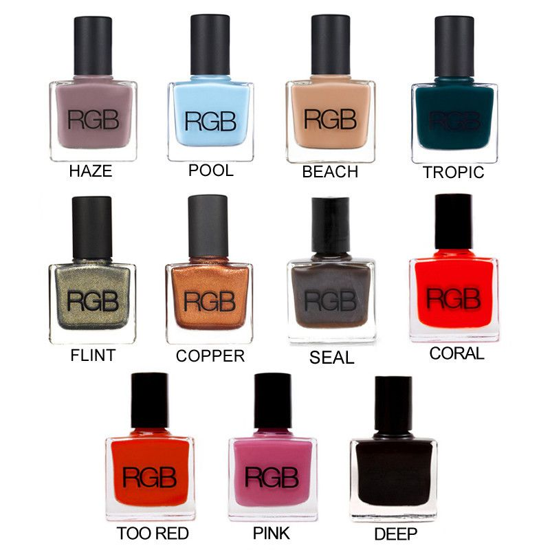 Rgb Nail Polish The Chip Resistant And High Shine Formula Is