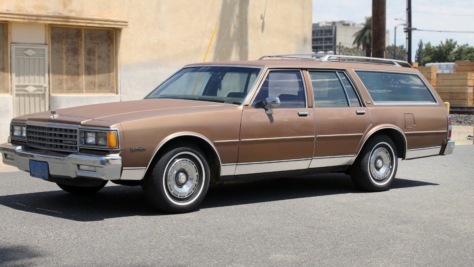 Barn Find 1985 Chevrolet Caprice Wagon Chevrolet Caprice