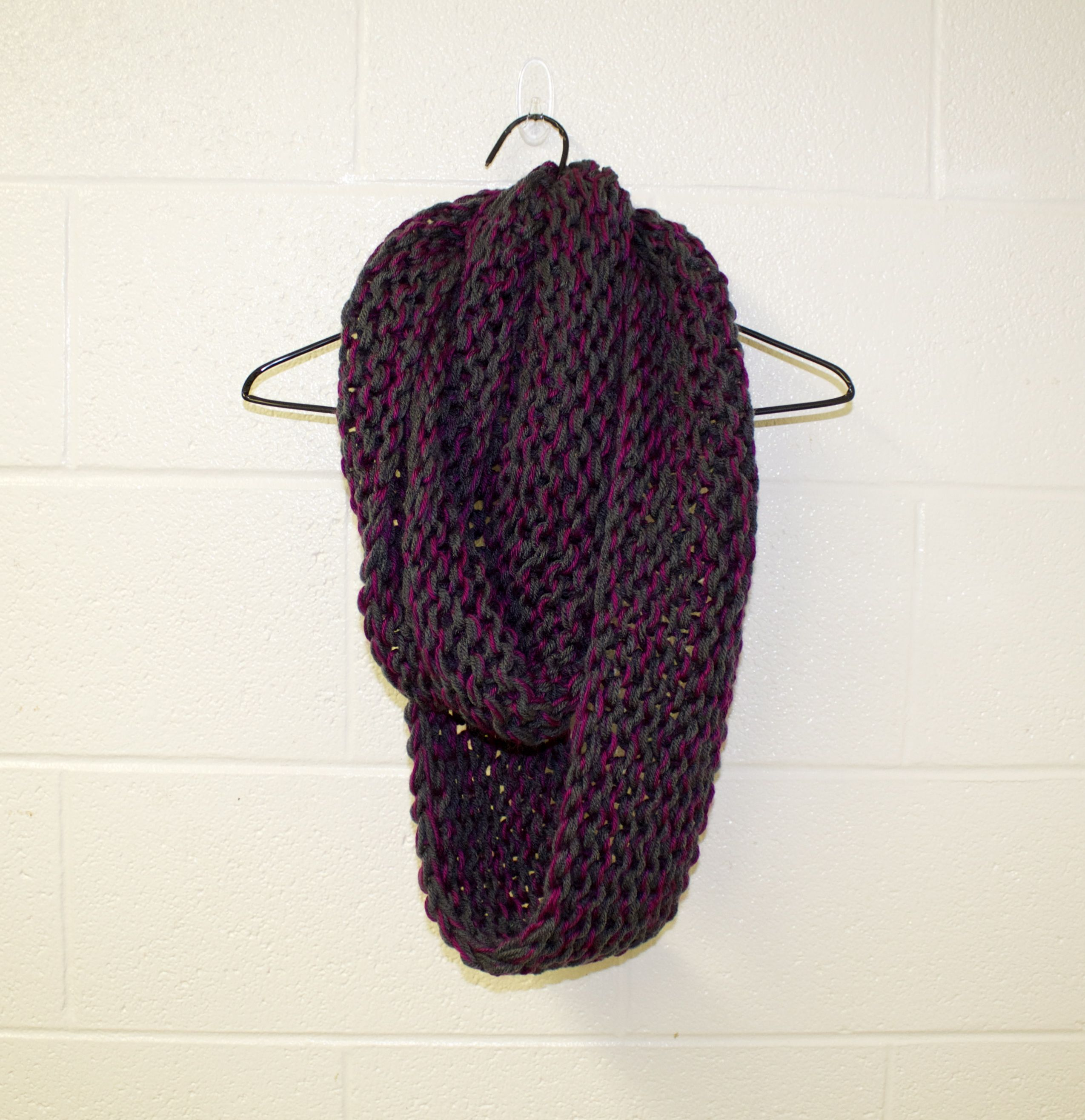 Multi color chunky knit scarf · Lynn Avenue · Online Store Powered by Storenvy   Loving this scarf