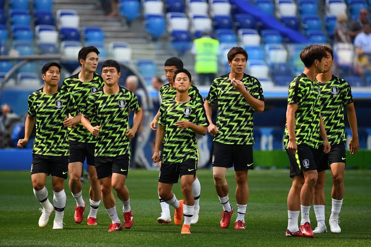 095076381 Stunning Nike South Korea 2018 World Cup Pre-Match Shirt Released - Footy  Headlines