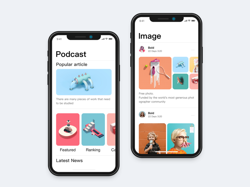 iPhone X Exercise by JPstyle IphoneApp 모바일 디자인, 앱, 앱 디자인