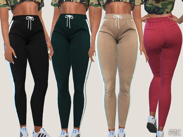 5c7abeacd Casual and Sporty Pants 019 - The Sims 4 Download - SimsDomination ...