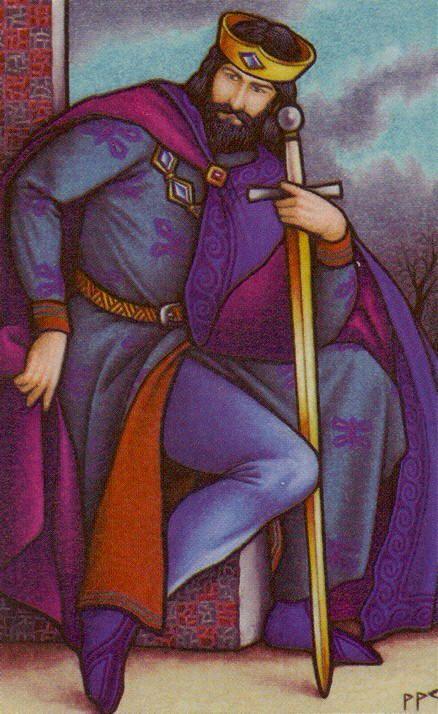 CO- Schwerter 14 - König