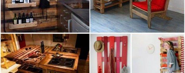 Reciclado de Palets ideas para tu cocina y comedor La Bioguía - palets ideas