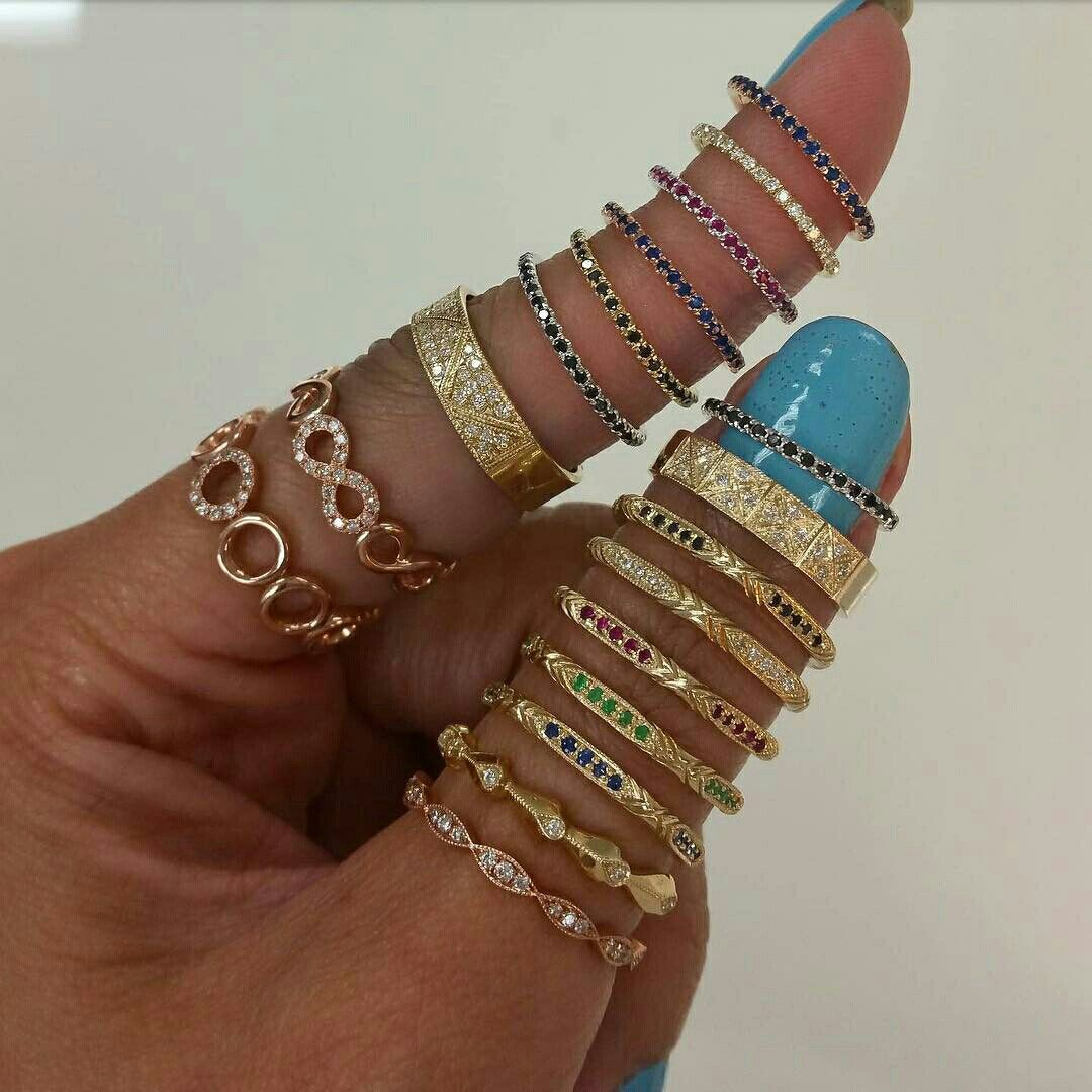 Stack of the day!! @danasengjewelry