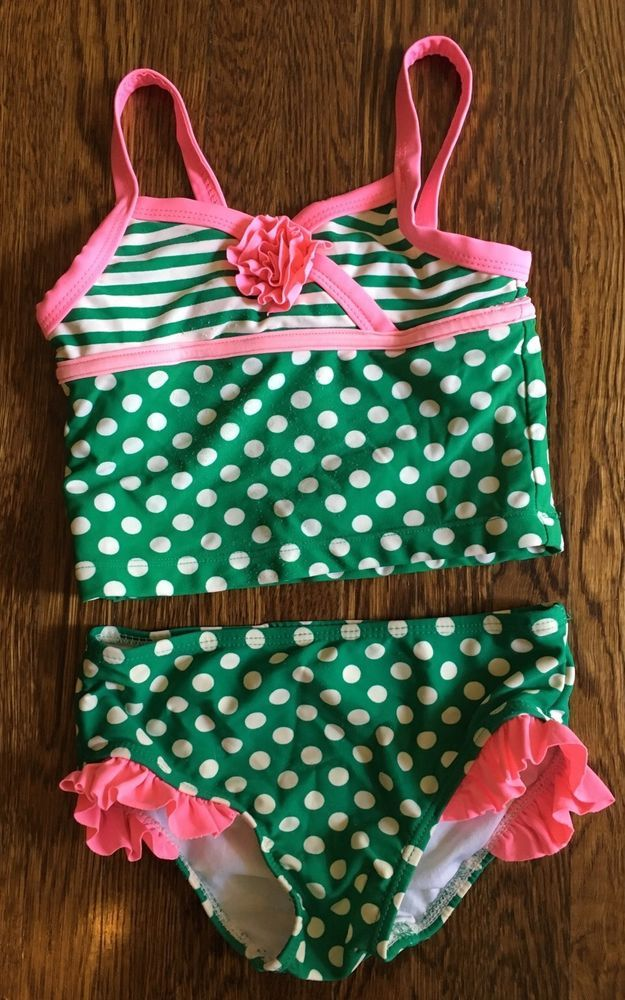 End of Summer CLEARANCE Kids Bathing Suit Tankini Size 4T Circo | eBay