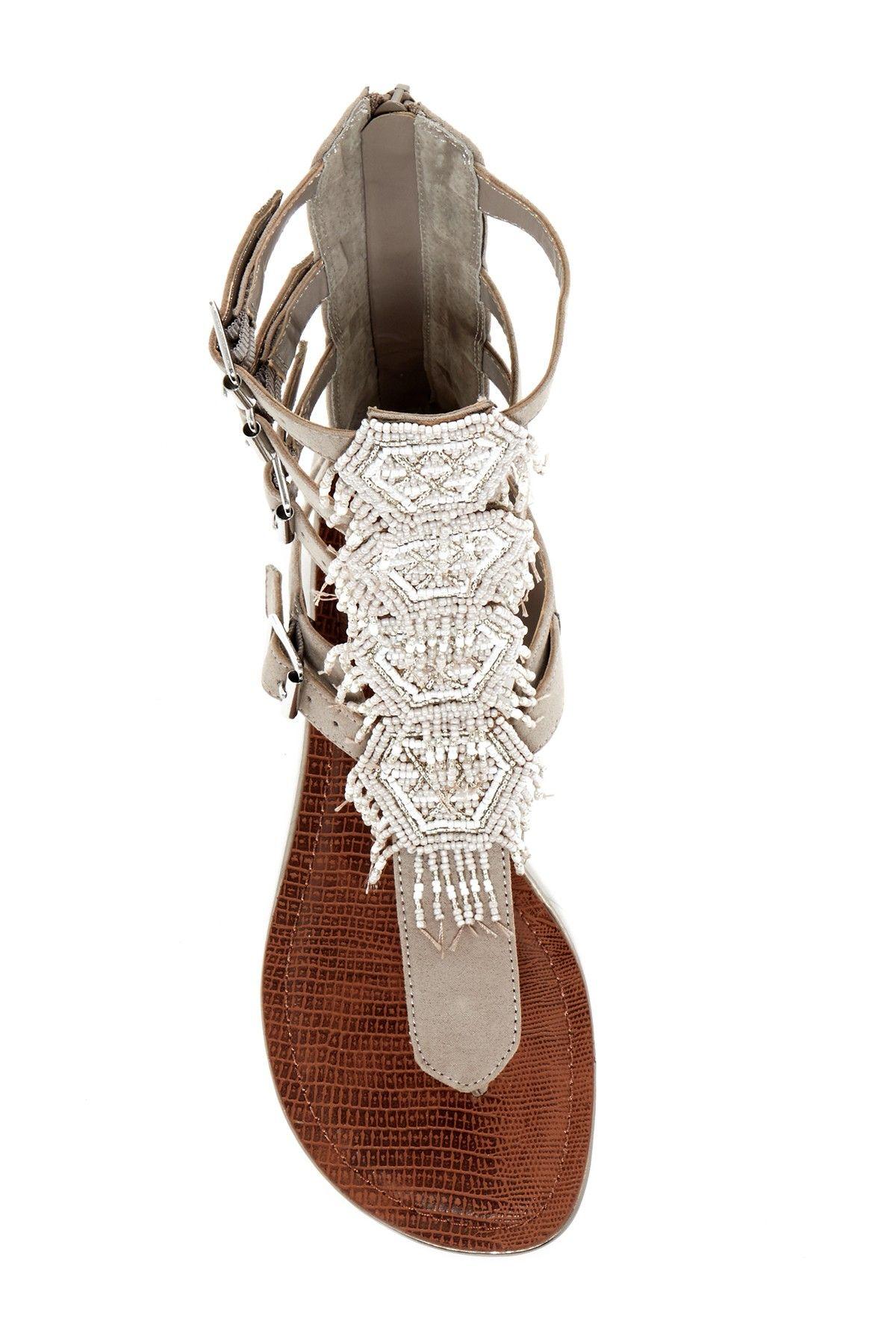 Taos Beaded Gladiator Sandal by Carlos By Carlos Santana on  HauteLook