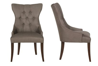 host chairs in funky fabric great for dining room furniture