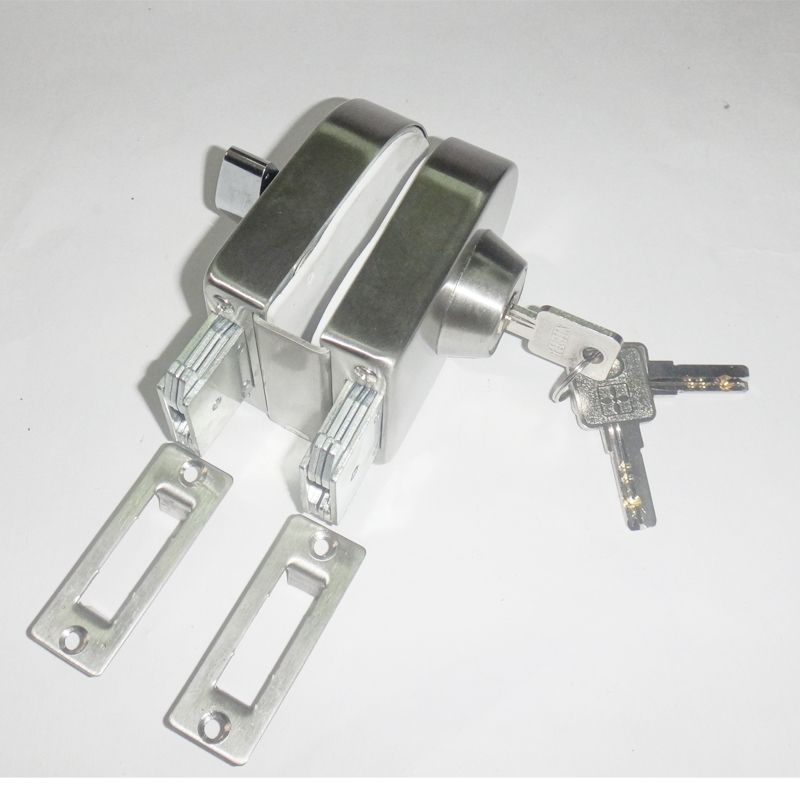 Entry Gate 10 12mm Glass Swing Push Sliding Door Lock With Keys Entry Gates Door Locks Cool Things To Buy
