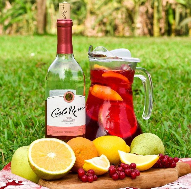Punch Parker Recipe: Moscato Punch Recipes, Punch