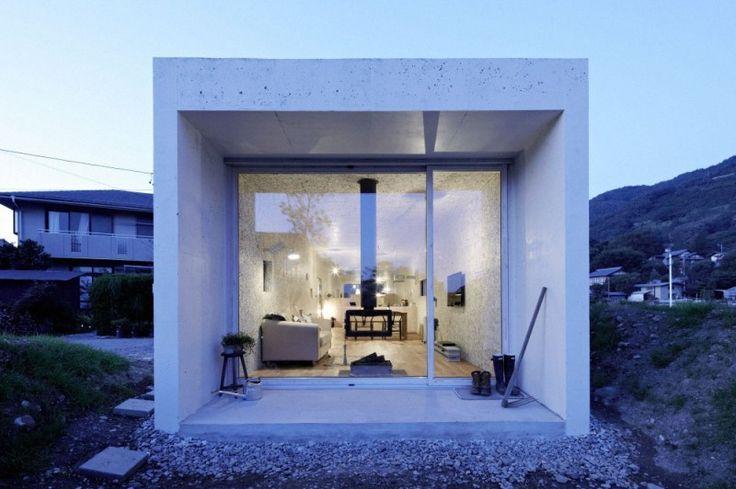 casas modulares de hormigón Ángel Pinterest - casas modulares