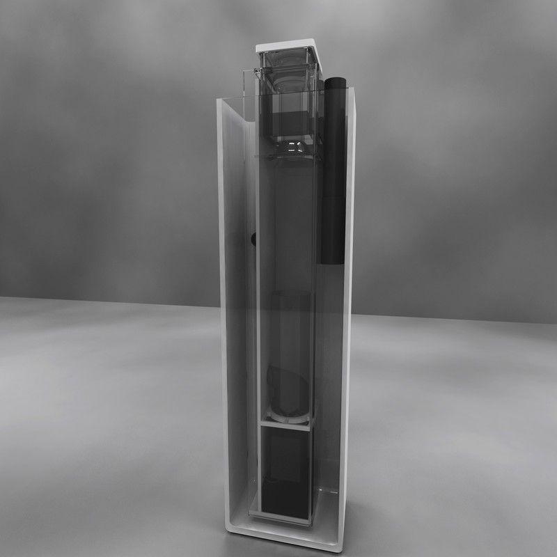 Leopard L200  Skimz presenta la sua nuova linea di schiumatoi ad alte performance con il nuovo sistema Integrate Inverted Cone Skimz (IIC). Questo sistema indirizza le bolle d'aria sul lato esterno della camera di contatto per ottenere prestazioni ottima