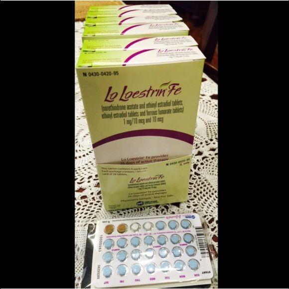 Lo Loestrin Fe 6 Pack 6 Mos Birth Control Pills Lo Loestrin Fe