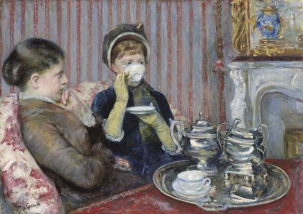 The Tea About 1880 Mary Cassatt Ideias Para Pintura E Gravuras