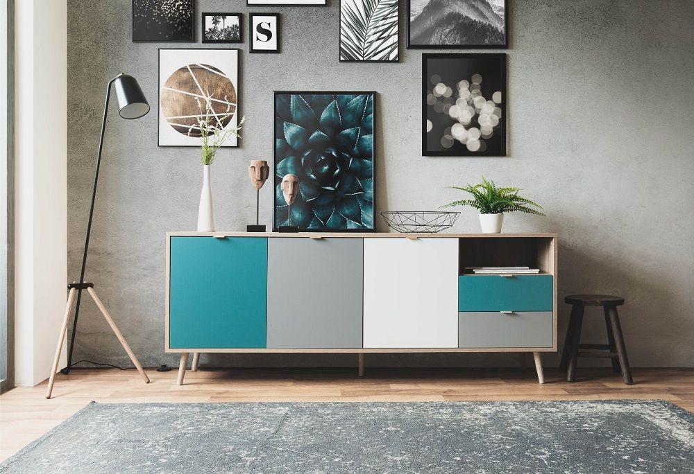 Buffet Scandinave Aruba Chene Pas Cher Buffet But Iziva Com Buffet Bas Mobilier De Salon Decoration Blanc