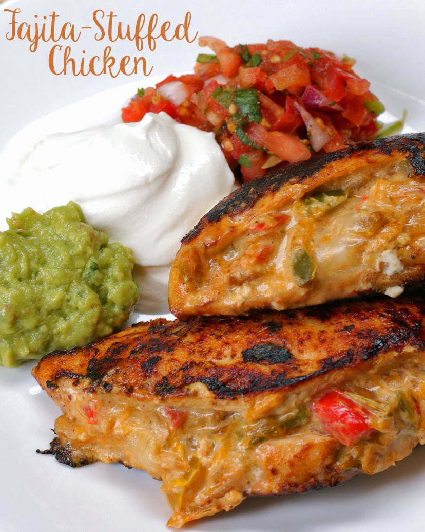 Onepan Chicken Fajita Bombs Recipe Food recipes