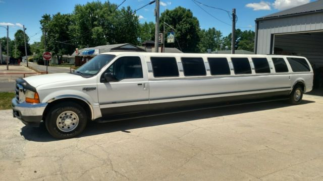 Ford Excursion 200 Stretch Limo Built By ULTRA 18 Passenger For Sale Photos Technical Specs Description