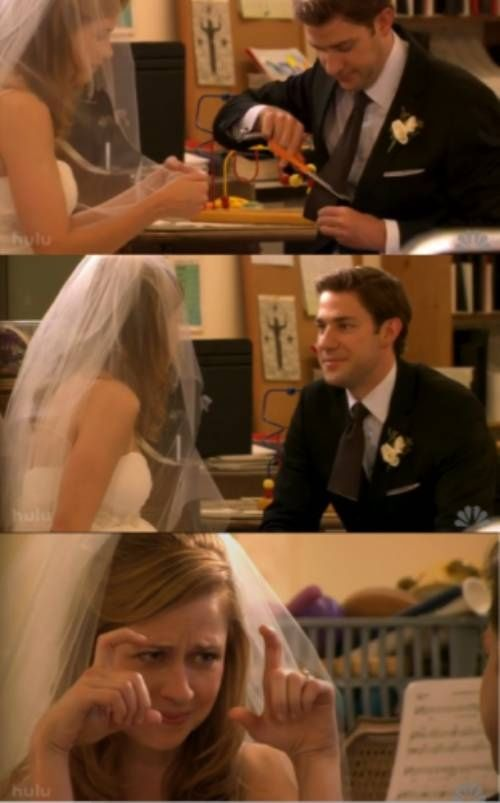 Jim And Pam Wedding Episode.Jim Pam Favorite Tv Couple Ever This Is One Of The Best