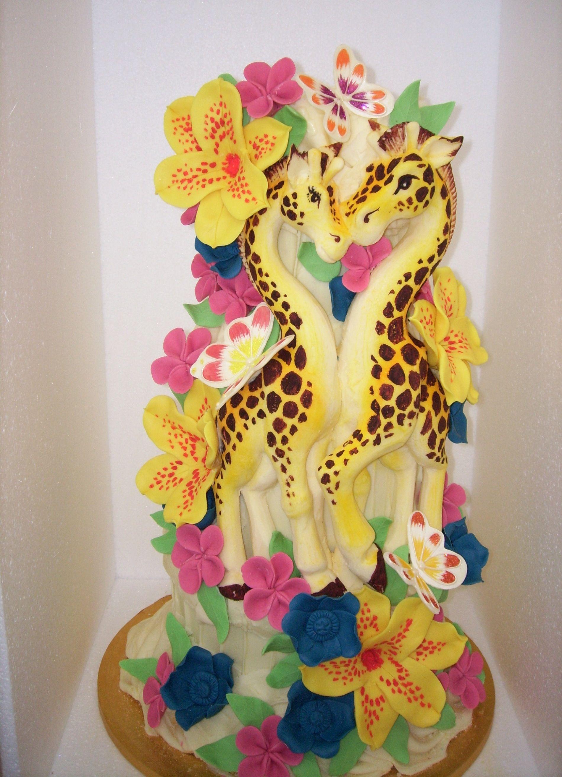 Wedding cake by Chockywockydoodah