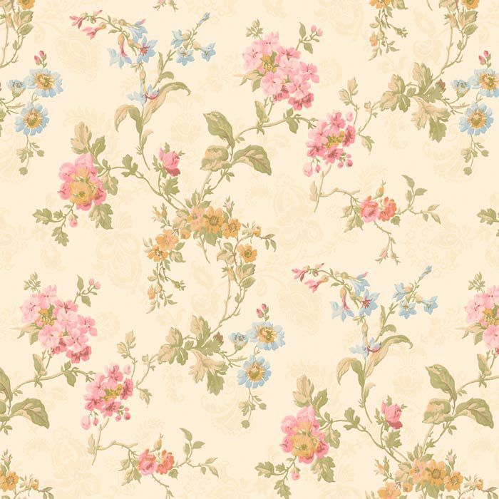 Geranium Multi Floral Wallpaper In Beige Floral Wallpaper Flower Wallpaper Wallpaper Floral print wallpaper for walls