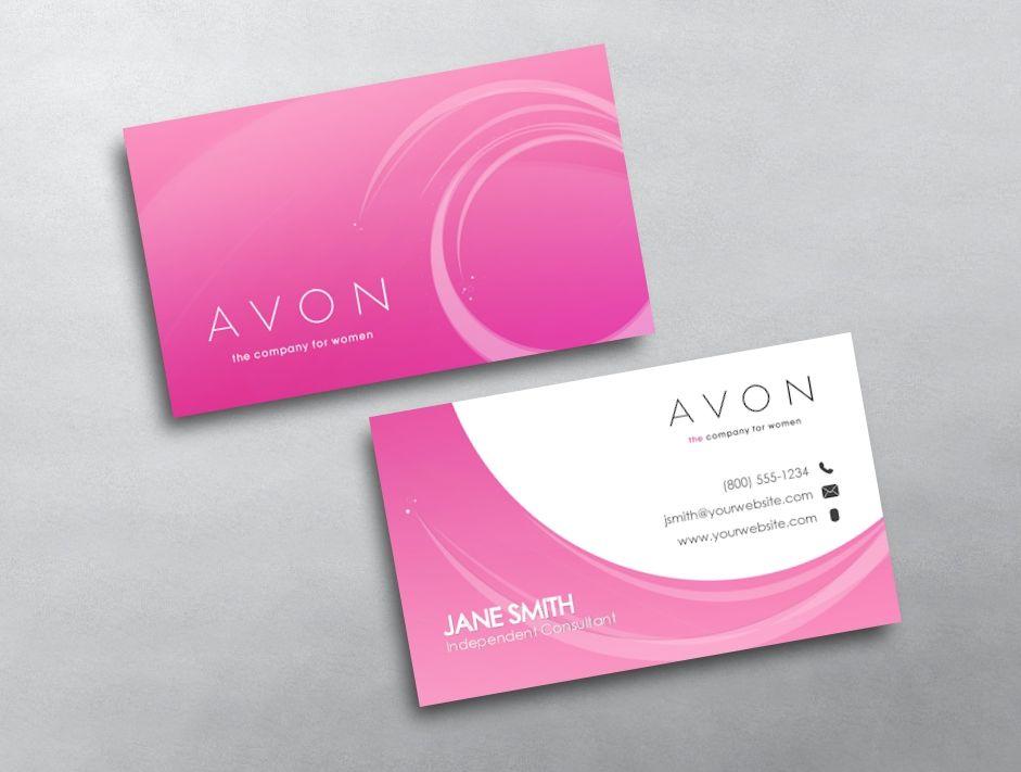 Avon Visitenkarten Von Avery Sowie Avon Visitenkarten Für