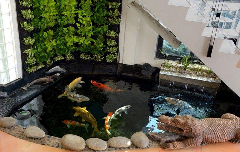 60 Best Minimalist Garden House With Fish Pond Ideas Fish Pond Minimalist Garden Pond