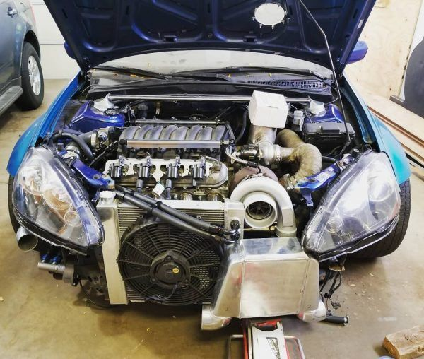 Acura RSX With A Turbo LSx (LS4) V8 And Soon Will Have