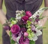 Vintage plum + gold wedding inspiration | Details + Decor, Flowers + Greenery | 100 Layer Cake