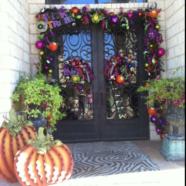 Halloween Entry Way so much fun!!!!