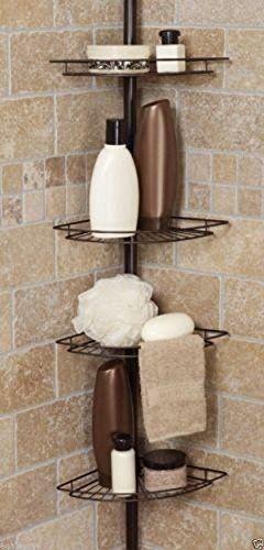 Shower Caddy Corner Shelf Organizer Bath Storage Bathroom