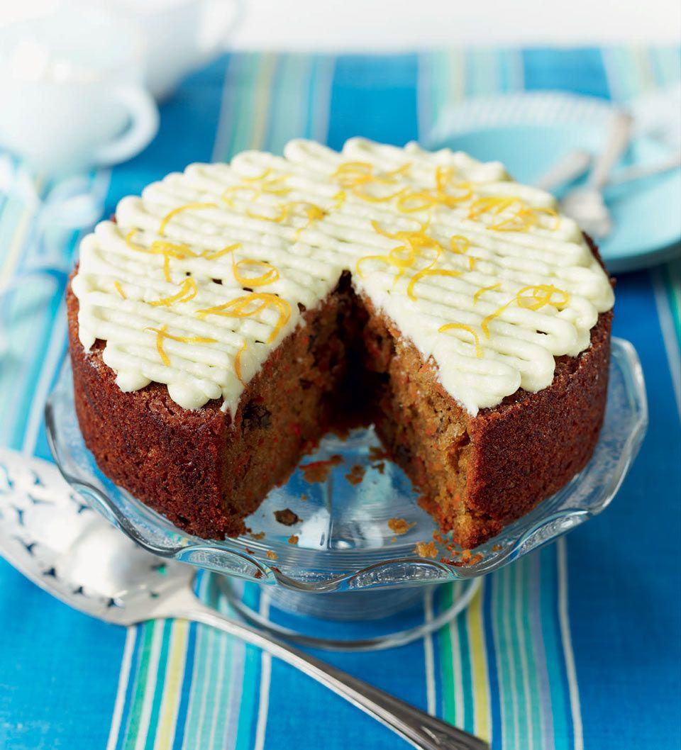 Carrot cake cream cheese recipe uk