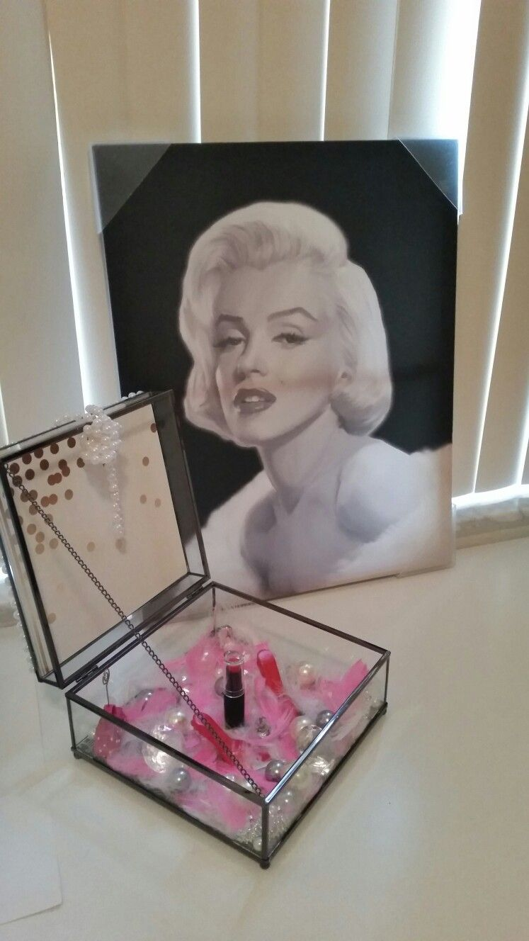 Marilyn Monroe Shadow Box Craftsbymeli@gmail.com