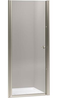 Kohler Fluence Fluence Frameless Pivot Shower Door Anodized