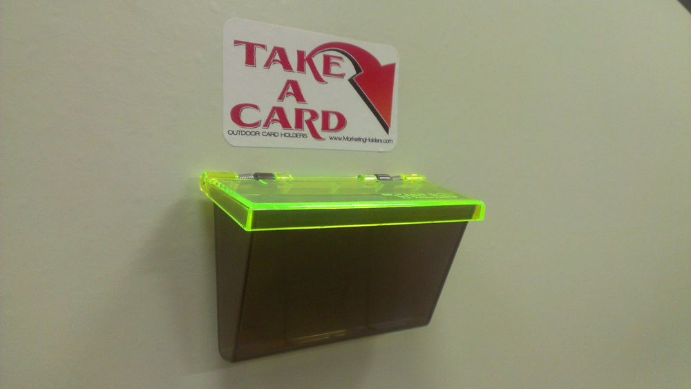 2 Outside Business Card Holders Can be use for Car Magnetic Signs ...