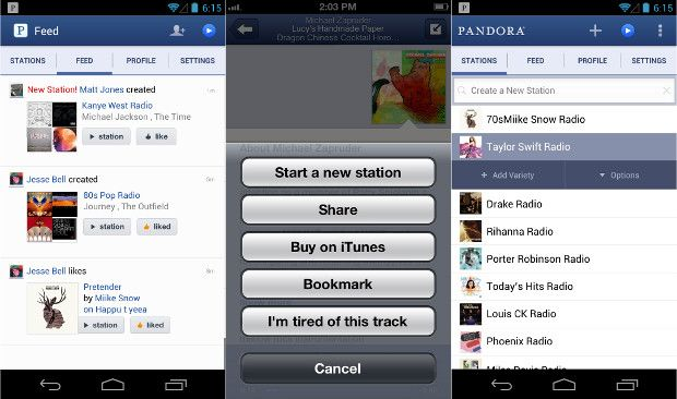 Pandora app gets major redesign on Android and iOS with