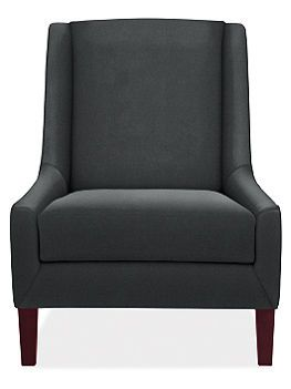 Dimensions:   29w 37d 37hInside Seating:   24w 23dSeat Height:   18hArm Height:   18hLeg Height:   7h