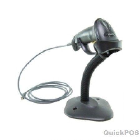 Zebra LS2208-SR20007R Handheld Barcode Scanner USB Kit Black