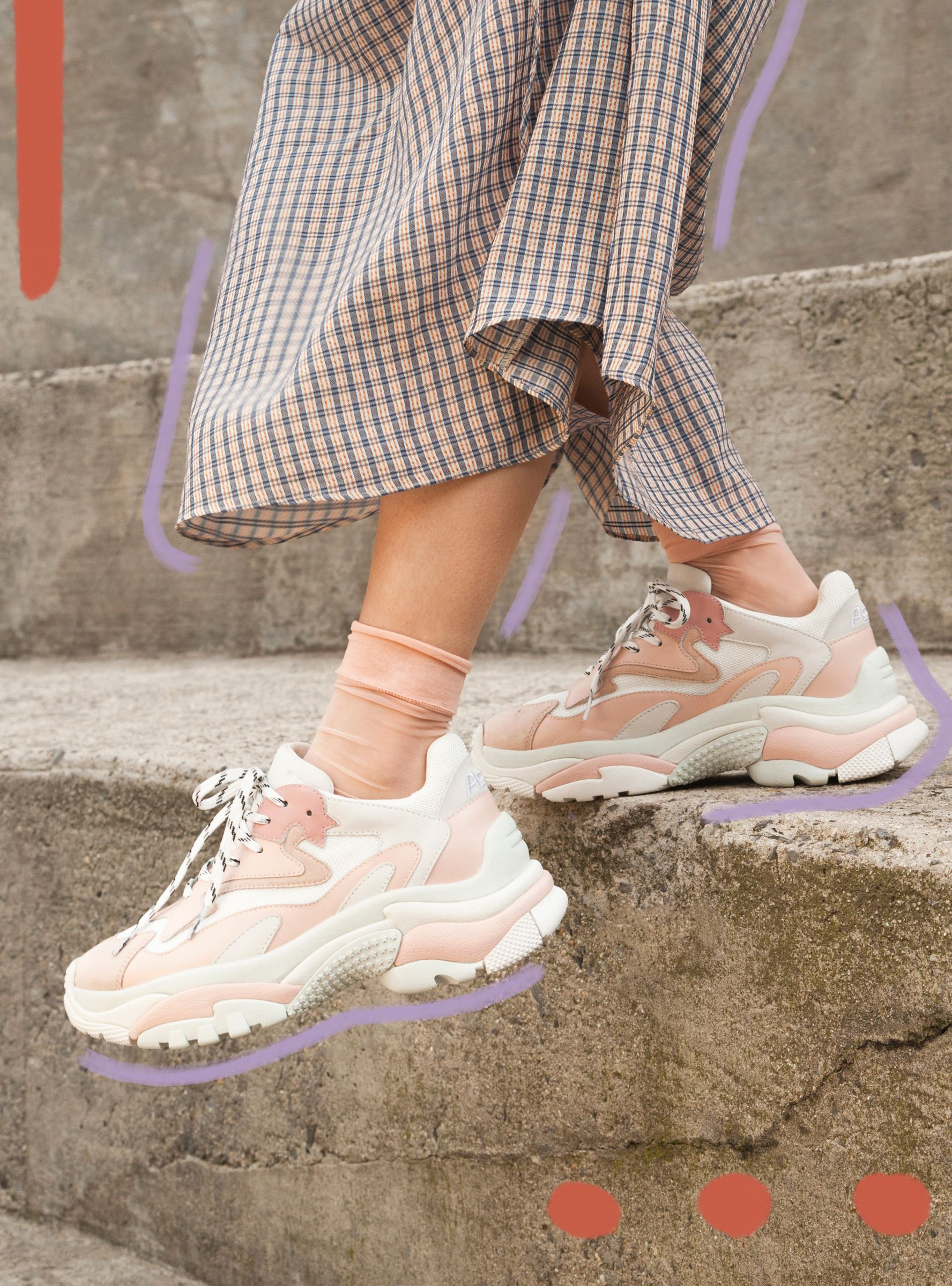 How To Actually Wear Chunky Sneakers