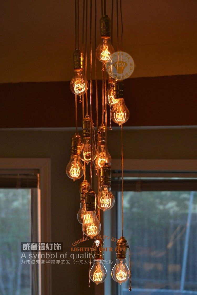 Focos Edison Buscar Con Google Cool Lamps Vintage Lamps Cool Lighting