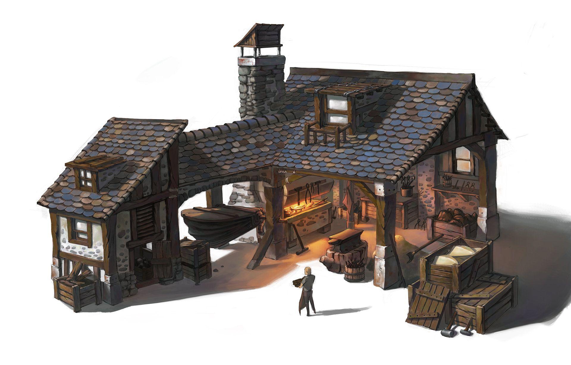 Smithy Wonwoo Cho Desenho De Arquitetura Edificios Minecraft