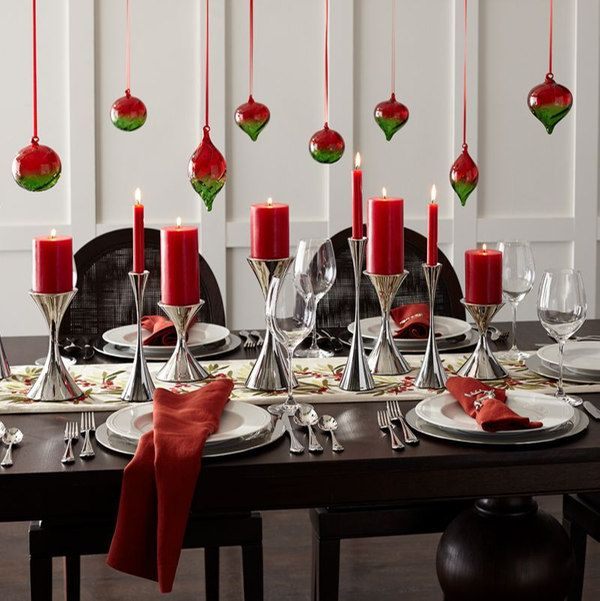 Holiday Table Settings | Pinterest | Holiday tables, Table settings ...
