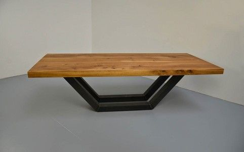 Tisch Untergestell Stahl Bladehull Beispiel Esstisch