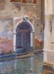 oil paintings; doorways of venice - Google Search