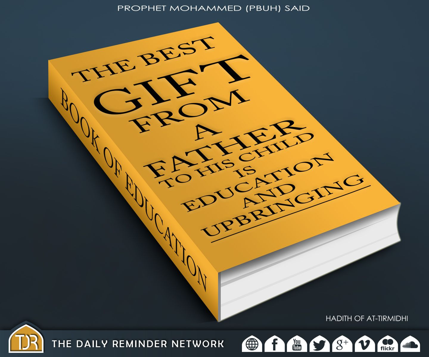 Prophet muhammad peace be upon him said the best gift from a prophet muhammad peace be upon him said the best gift from a father negle Images